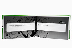 Green TweetBook Center Fold