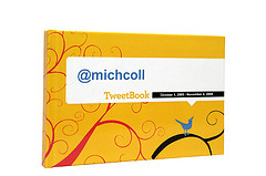 Yellow TweetBook Front Cover